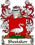 Shestakov Family Crest, Coat of Arms