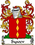 Sysoev Family Crest, Coat of Arms