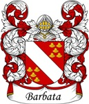 Barbata Family Crest, Coat of Arms