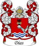 Dias Family Crest, Coat of Arms