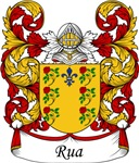 Rua Family Crest, Coat of Arms