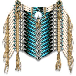 Native American Breastplate 7