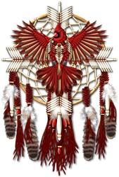 Native Cardinal Mandala