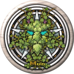 Vine Celtic Greenman Pentacle