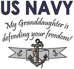 NAVY My Granddaughter is defending your freedom!