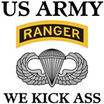 US ARMY RANGER AIRBORNE WE KICK ASS