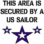 THIS AREA IS SECURED BY A US SAILOR