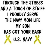 Navy Mom - My Son Has Got Your Back Poem