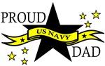 Proud Navy Dad with Hero Poem