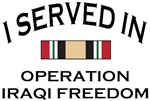 I served in Operation Iraqi Freedom with medal