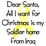 Dear Santa All I want for Christmas is my Soldier