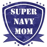 Super Navy Mom and Dad T-shirts and Gifts