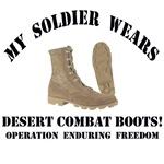 OEF - My Soldier Wears Desert Combat Boots