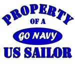 Property of a Go Navy US Sailor