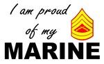 Proud of my marine - Gunnery Sergent E7