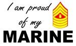 Proud of my Marine - Master Gunnery SGT E9