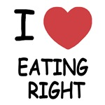 I heart eating right