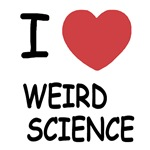 I heart weird science