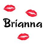 Brianna kisses