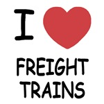 I heart freight trains