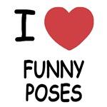 I heart funny poses