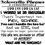 Noteworthy Phrases