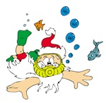 Ho! Ho! Ho! Scuba Santa