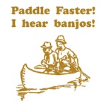 Paddle Faster Banjos