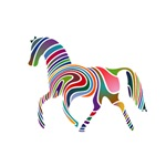 Horse Of Many Colors