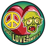 Peace, Love and Zombies!!!!