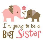 Big Sister to be - Mod Elephant