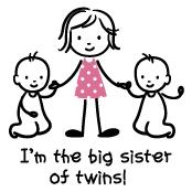 Big Sister of Twins - Stick Characters
