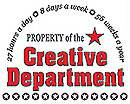 Property of the Creative Department