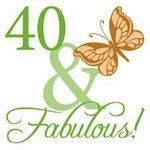 40 & Fabulous Birthday Gifts