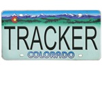 Colorado Tracker Plate