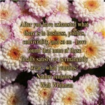 Walt Whitman Nature Quote