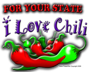 I Love Chili for your state