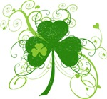 cool artstic shamrock