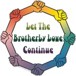 Let the Brotherly Love Continue anti-racism shirts