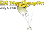 Egg Toss Champion t-shirts & custom gifts