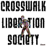 Crosswalk Liberation Society t-shirts & stickers