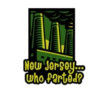 New Jersey - Who Farted? | Retro  New Jersey Fart  T-shirts &  Strange Garden State Gifts