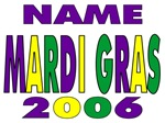 Mardi Gras Name Shirt