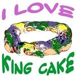 I LOVE KING CAKE