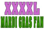 Extra LArge MArdi Gras Fan