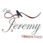 Team Jeremy The Vampire Diaries Raven Ribbon2