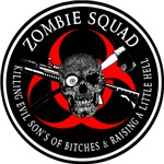 Zombie Squad 3 Ring Patch