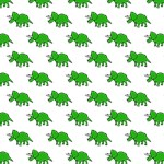 Cute Triceratops pattern