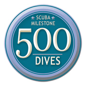 Scuba Milestone: 500 Dives