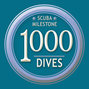 Milestone: 1000 Dives